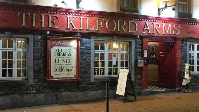 Kilford Arms Kilkenny Hotel with entertainment