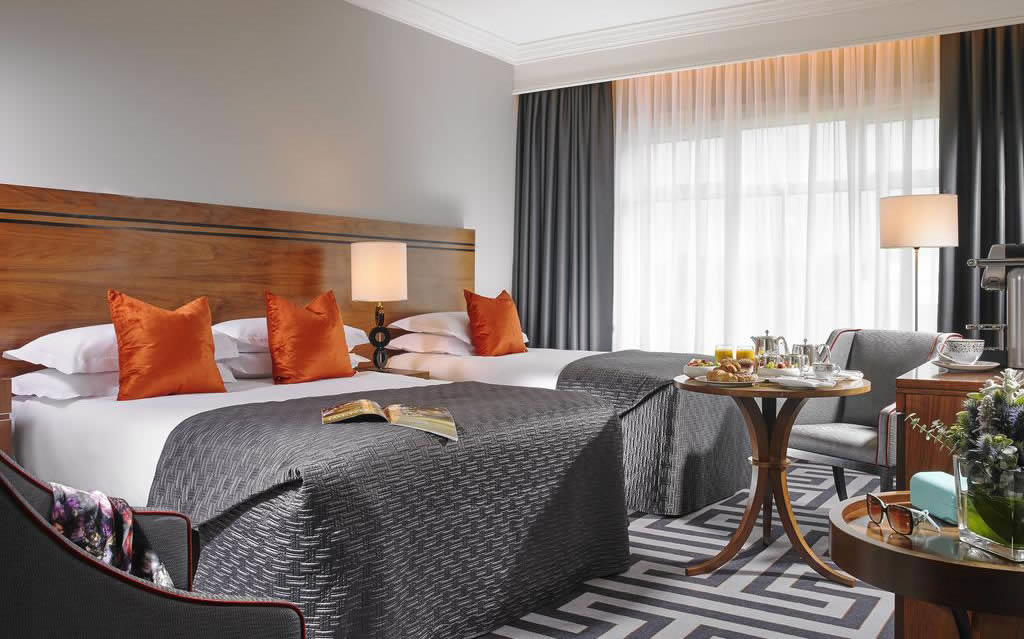 lyrath Estate luxury hotels in kilkenny bedroom
