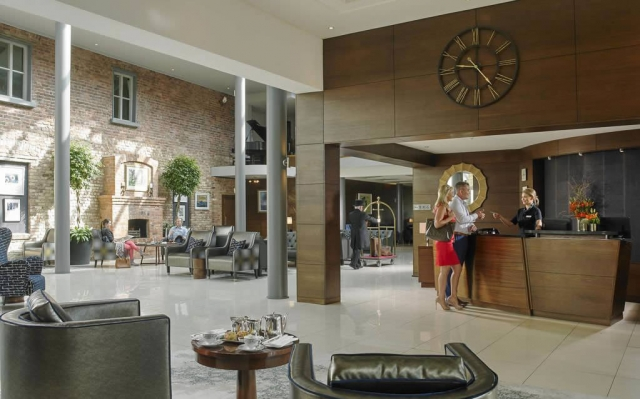 lyrath Estate luxury hotels reception