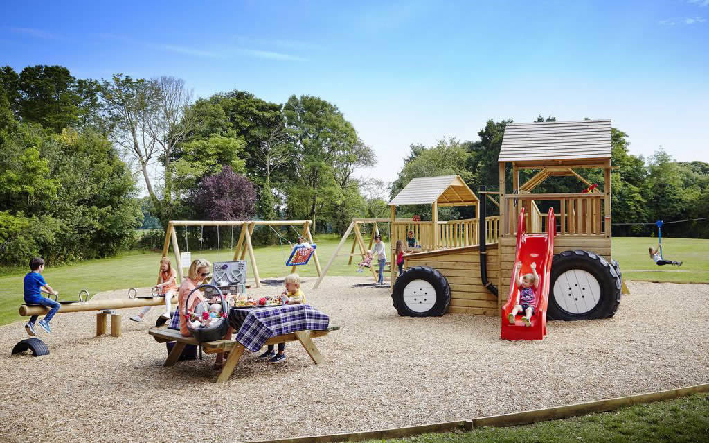 lyrath Estate hotel in kilkenny kids play area