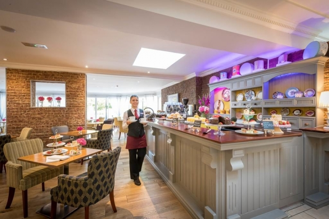 Springhill Court Hotel Kilkenny breakfast room
