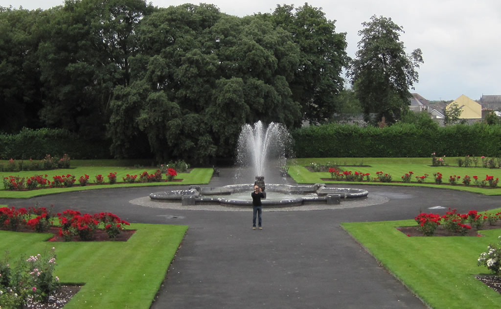 Gardens at Kilkenny Castle