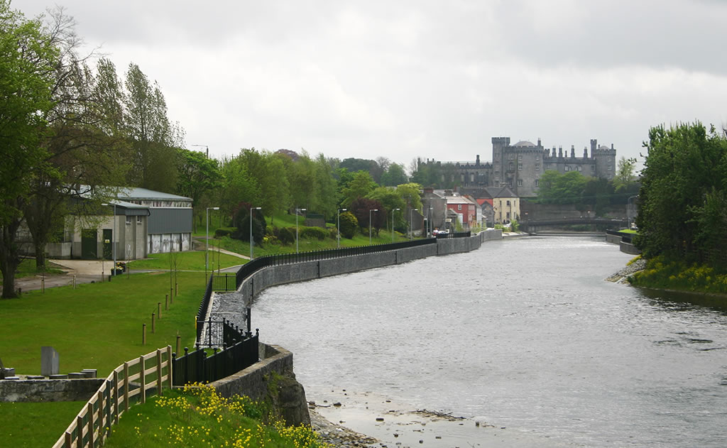 kilkenny castle from the river
